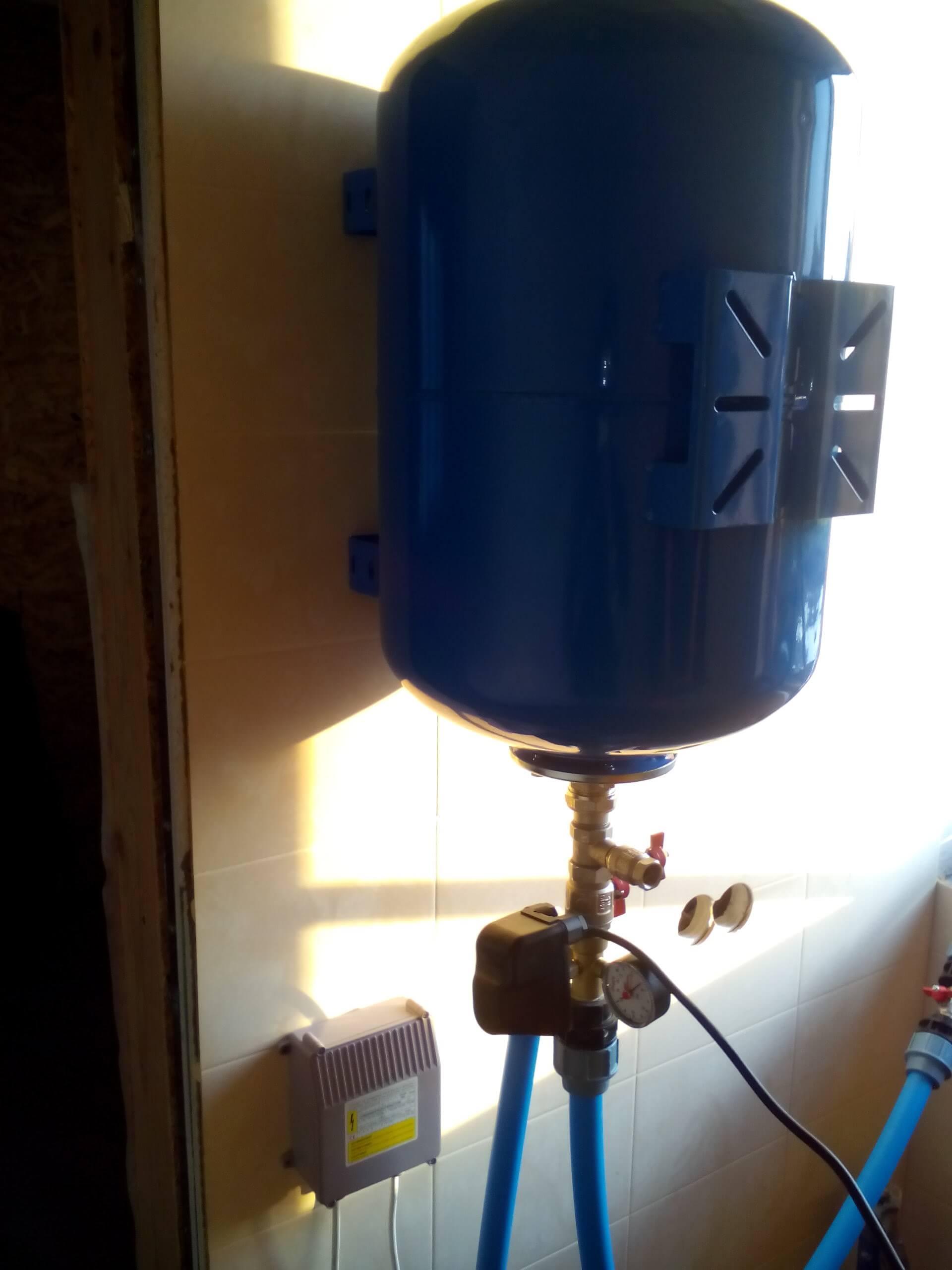 Подключение скважины к дому